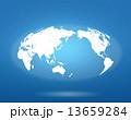 世界地図 13659284
