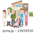 高齢者 医師 看護師 介護士 13659530
