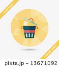 ゴミ くず ごみのイラスト 13671092