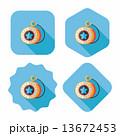 yo yo flat icon with long shadow,eps 10 13672453