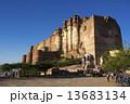Mehrangarh Fort, Jodhpur, Rajasthan, INDIA 13683134