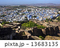 Jodhpur City or the blue city, Rajasthan, India 13683135