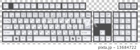 日語鍵盤 13684722