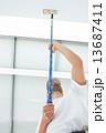 天井 棟上 ペンキ塗りの写真 13687411