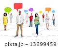 グループ 人々 スピーチの写真 13699459