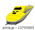 黄色い新幹線 13705665