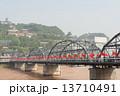 中国・甘粛省蘭州 黄河第一橋(中山橋) 13710491