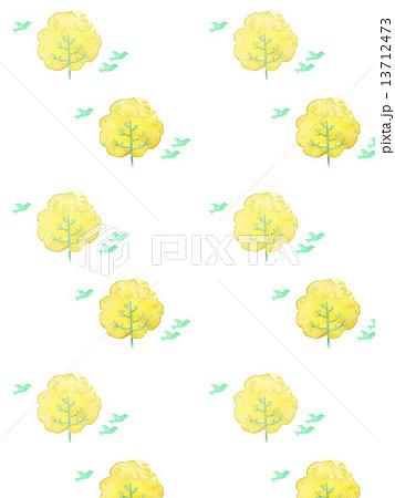 エコ 鳥 自然 ナチュラル 可愛い かわいい 木 樹木 緑 緑色 模様