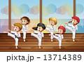 空手 空手道 運動のイラスト 13714389