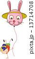 バルーン 気球 ドラマーのイラスト 13714708