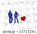 バレンタインデー  13715241