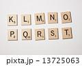スクラブル 木製 アルファベットの写真 13725063