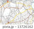 地図_東京_渋谷区_新宿区 13726162