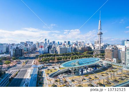 名古屋・都市風景 13732525
