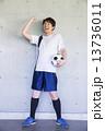 スポーツイメージ サッカー  13736011