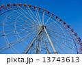 観覧車・青空(高解像度 対応)アイスブルースカイ 13743613