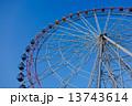 観覧車・青空(高解像度 対応)アイスブルースカイ 13743614