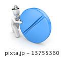 錠剤 ピル カプセル剤のイラスト 13755360