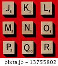 スクラブル 木製 アルファベットの写真 13755802
