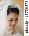 人物 女性 花嫁の写真 13759478