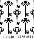 カギ キー 鍵のイラスト 13761644