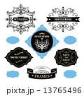 ウェディング セット 下げ札のイラスト 13765496