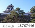 冬の高知城本丸 13767446