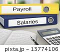 給与 給料 立体のイラスト 13774106