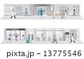 病院のイラスト  13775546