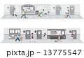 ベクター 動物病院 診療所のイラスト 13775547