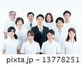 医療スタッフ 人物 男女の写真 13778251