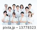 医療スタッフ 人物 男女の写真 13778323