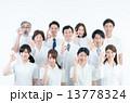 医療スタッフ OK 人物の写真 13778324