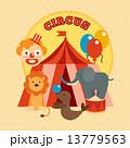 Circus Poster Flat 13779563
