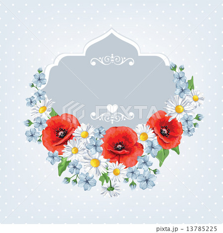flowers for background greeting cards and invitations of the wedding