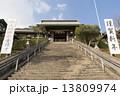 諏訪神社 山門 階段の写真 13809974