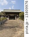 諏訪神社 山門 階段の写真 13809976