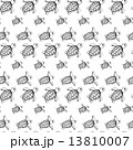 うみかめ かめ カメのイラスト 13810007