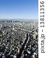 富士山 東京 都市の写真 13811356