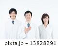 白衣のスタッフ 13828291