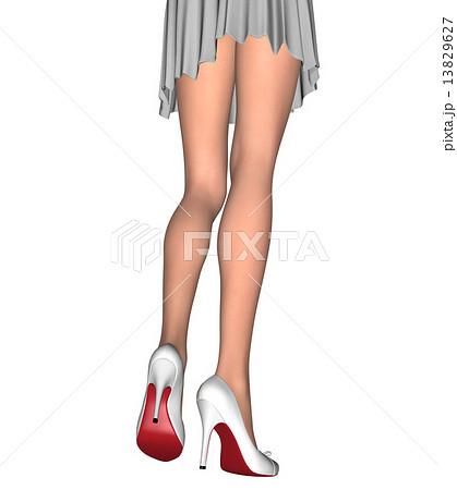 すらりとした美しい女性の脚 13829627