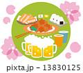 4月花見と料理01 13830125