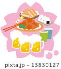 4月花見と料理02 13830127