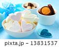 マシュマロ ホワイトデー お菓子の写真 13831537