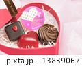 バレンタインデー バレンタイン バレンタインデーイメージの写真 13839067