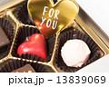 バレンタインデー バレンタイン バレンタインデーイメージの写真 13839069