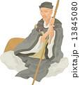 松尾芭蕉 偉人 歴史上の人物 イラスト 肖像 13845080