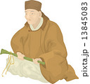 小林一茶 偉人 歴史上の人物 イラスト 肖像 13845083