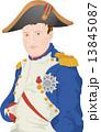 ナポレオン 皇帝 英雄 偉人 歴史上の人物 イラスト 肖像 13845087