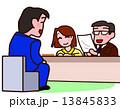 面接 リクルート 就職活動のイラスト 13845833